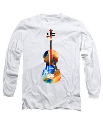 Violin Long Sleeve T-Shirts