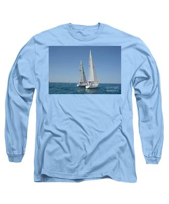 Sailboat Race Long Sleeve T-Shirt
