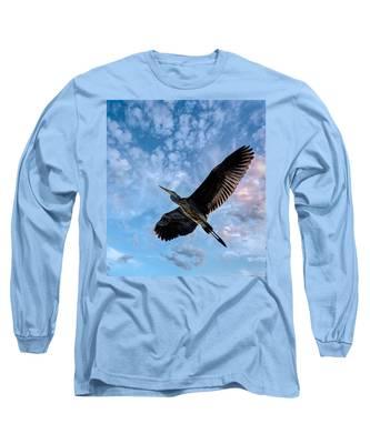 Flight Of The Heron Long Sleeve T-Shirt