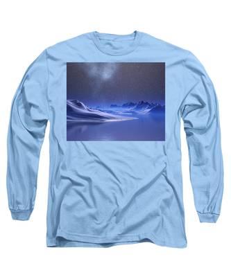 Midnight Snow Long Sleeve T-Shirt