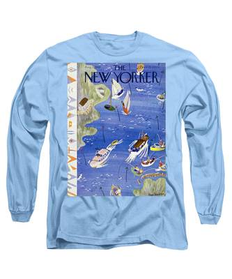 New Yorker August 3 1940 Long Sleeve T-Shirt