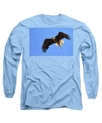 Bald Eagle Catch Long Sleeve T-Shirt