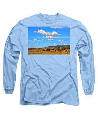 Cloudy Wyoming Sky Long Sleeve T-Shirt