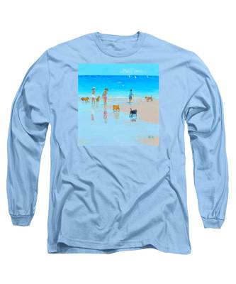 Dog Beach Day Long Sleeve T-Shirt