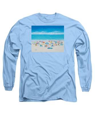 Beach Art - Fun In The Sun Long Sleeve T-Shirt
