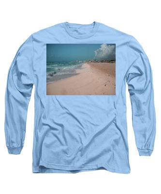 Sky Blue Long Sleeve T-Shirts