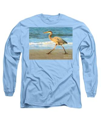 Bird With A Purpose Long Sleeve T-Shirt