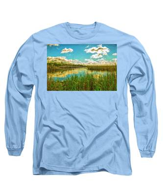 Gunnel Oval By Paint Long Sleeve T-Shirt