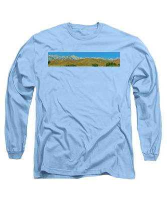 Mount Whitney Panorama Long Sleeve T-Shirt