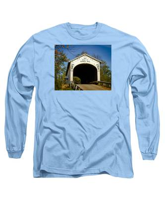 Offutt's Ford Covered Bridge Long Sleeve T-Shirt