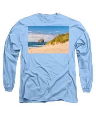Pacific Beach Haystack Long Sleeve T-Shirt