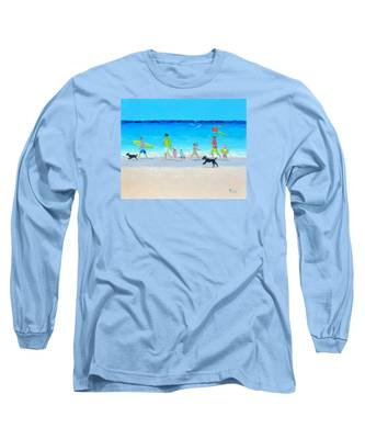 Summer Vacation Time Long Sleeve T-Shirt