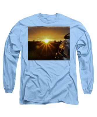 Sunrise And My Ride Long Sleeve T-Shirt
