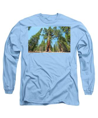 The Grizzly Giant- Long Sleeve T-Shirt
