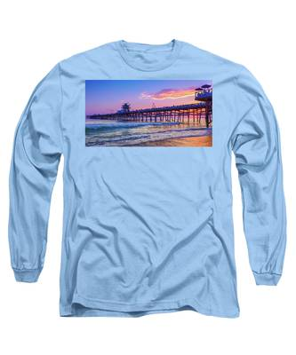 There Will Be Another One - San Clemente Pier Sunset Long Sleeve T-Shirt