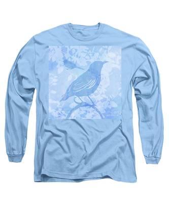 Tree Birds II Long Sleeve T-Shirt