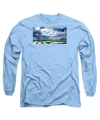 Walk With Me In The Sky Long Sleeve T-Shirt