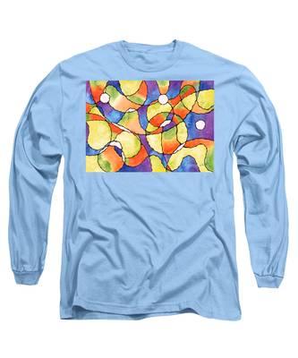 Carnival Balloon Abstract Long Sleeve T-Shirt