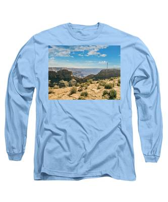 Eagle Rock, Grand Canyon. Long Sleeve T-Shirt
