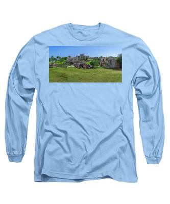 In The Footsteps Of The Maya Long Sleeve T-Shirt