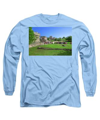 Temples Of Tulum Long Sleeve T-Shirt
