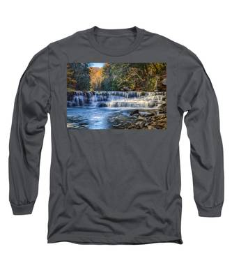 Squaw Rock - Chagrin River Falls Long Sleeve T-Shirt