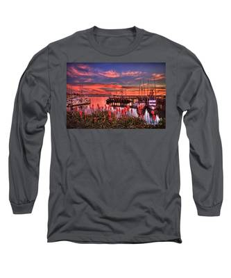 Beautiful Harbor Long Sleeve T-Shirt