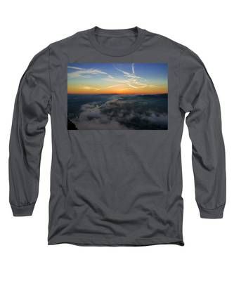 Before Sunrise On The Lilienstein Long Sleeve T-Shirt