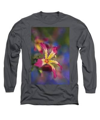 Bloomin Hong Kong Orchid Long Sleeve T-Shirt