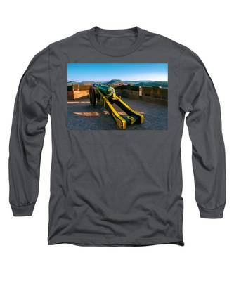 Cannon At The Fortress Koenigstein Long Sleeve T-Shirt
