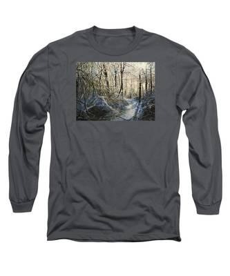 Crystal Path Long Sleeve T-Shirt