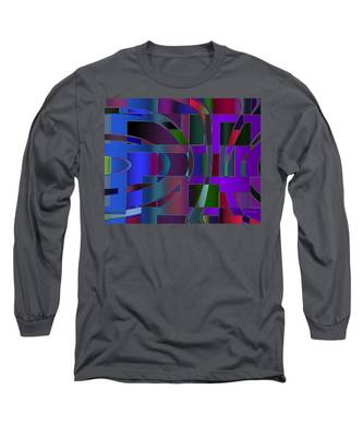 Curves And Trapezoids 2 Long Sleeve T-Shirt