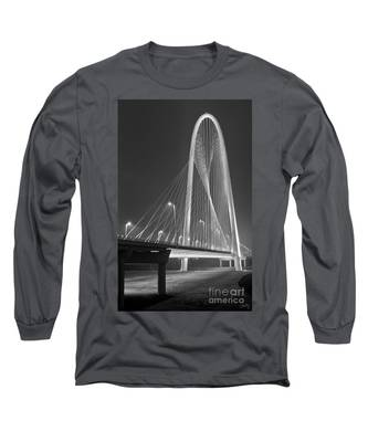 Fog Lights And Lines Iv Long Sleeve T-Shirt