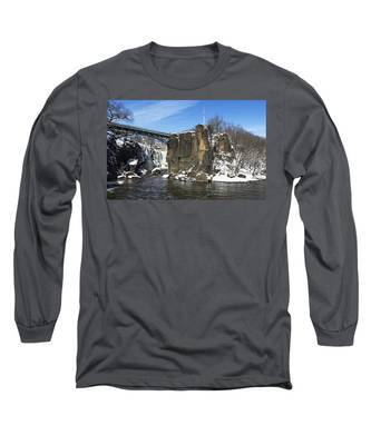 Great Falls In Color Long Sleeve T-Shirt