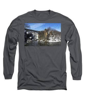 Great Falls Painted Long Sleeve T-Shirt