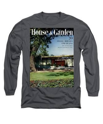 House & Garden Cover Of The Kurt Appert House Long Sleeve T-Shirt