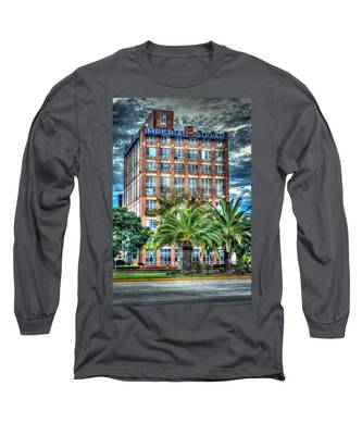 Imperial Sugar Factory Daytime Hdr Long Sleeve T-Shirt