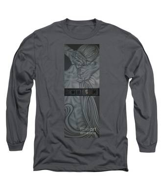 Two Halfs Of Us Long Sleeve T-Shirt