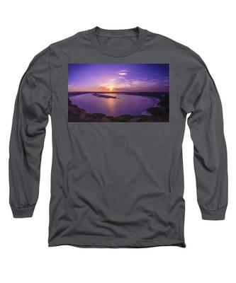 Lake Travis Sunset Long Sleeve T-Shirt
