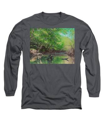 Little Red Morning Long Sleeve T-Shirt