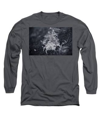 Macro Snowflake Long Sleeve T-Shirt