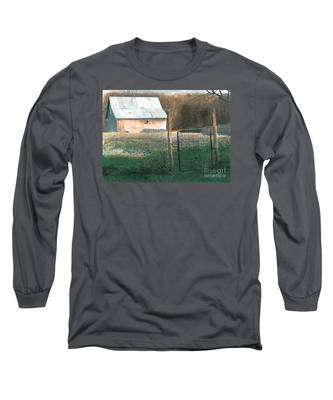 Milking Time Long Sleeve T-Shirt