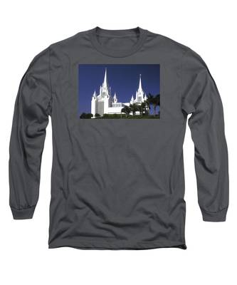 Mormon Temple Long Sleeve T-Shirt