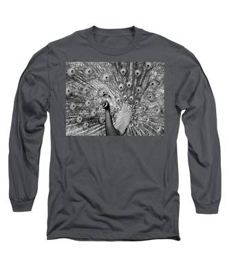 Mother Natures Fireworks Long Sleeve T-Shirt
