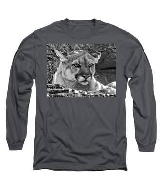 Mountain Lion Bergen County Zoo Long Sleeve T-Shirt