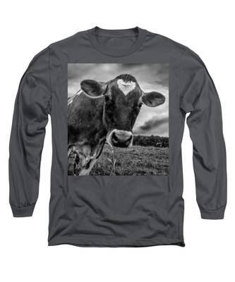 She Wears Her Heart For All To See Long Sleeve T-Shirt