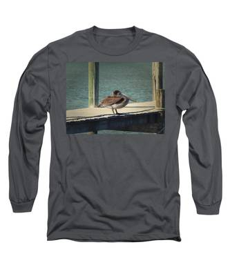 Sitting On The Dock Of The Bay Long Sleeve T-Shirt