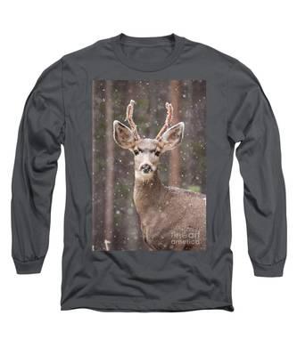 Snow Deer 1 Long Sleeve T-Shirt