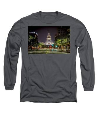 The Texas Capitol Building Long Sleeve T-Shirt
