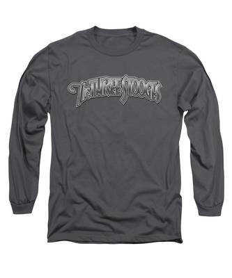 Metallic Long Sleeve T-Shirts